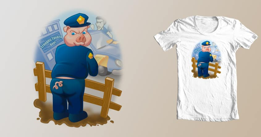The Pig by Gritchu on Threadless