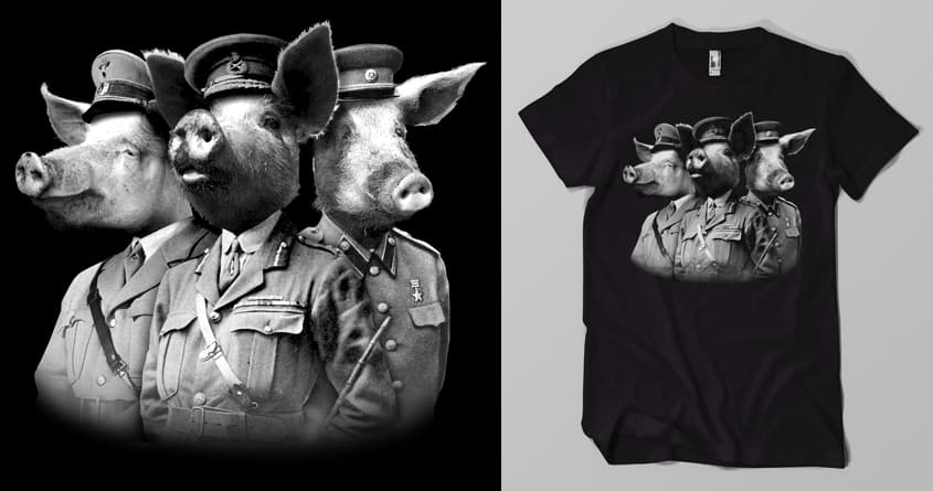 War Pigs by Musarter on Threadless