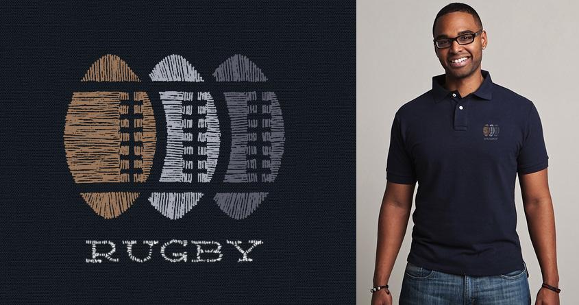 Rugby by speakerine on Threadless
