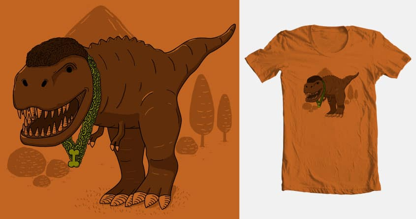 Mt. T-Rex by goliath72 and P0ckets on Threadless