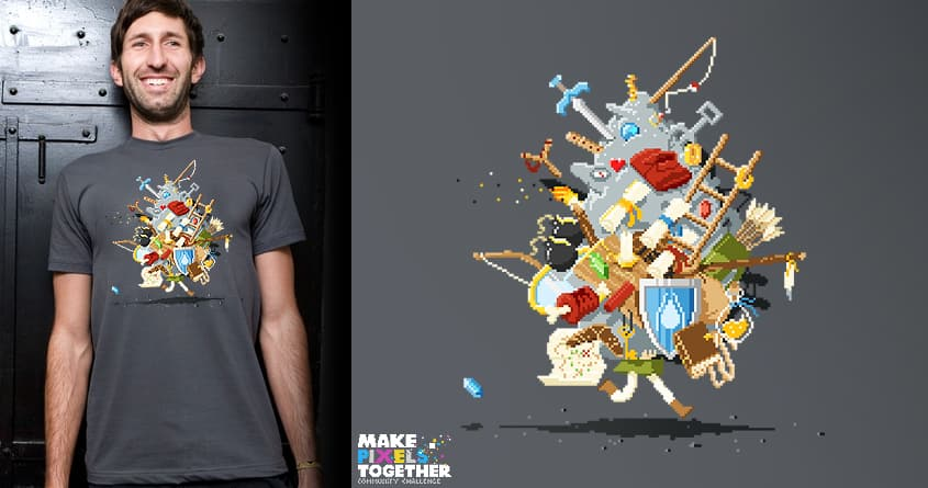 .It's dangerous to go alone! Take this by fightstacy on Threadless