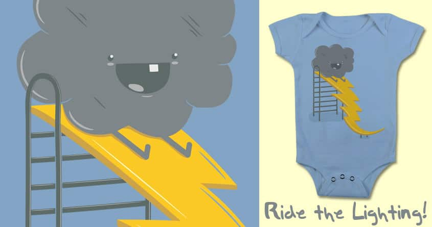 Ride The Lightning! by BeanePod on Threadless
