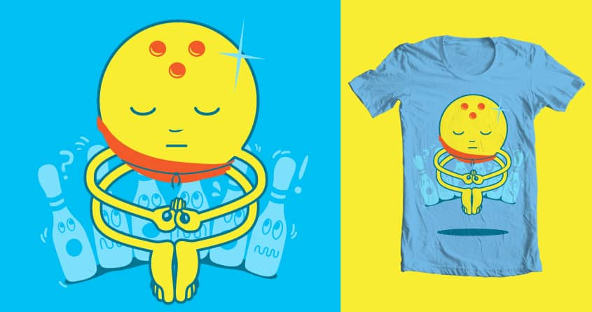 Meditating for a Strike by jasonapdua on Threadless