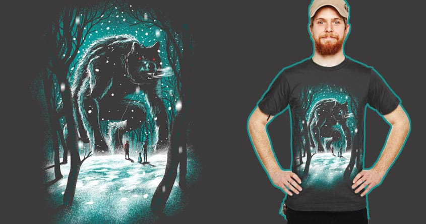 the giant pet by bokien on Threadless