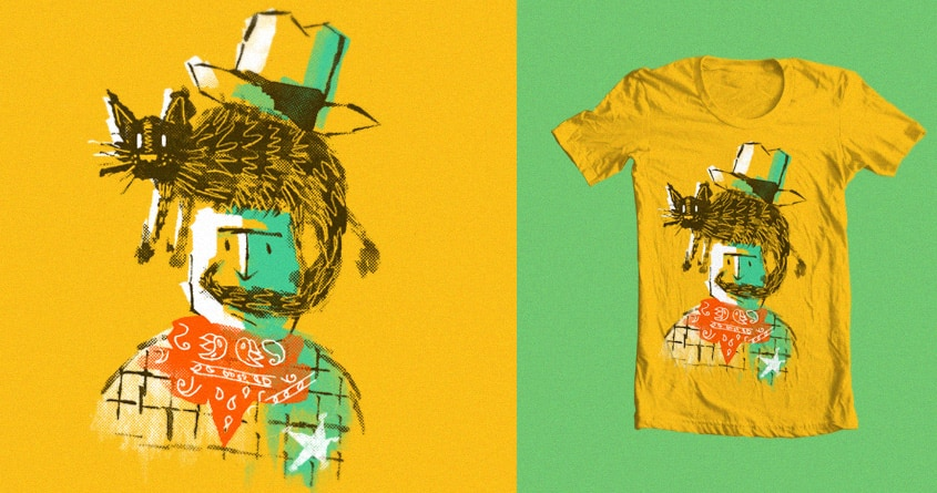 Cowboy Dan by coreyrtabor on Threadless