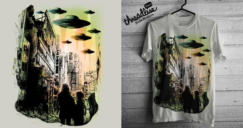 The Martians Return by chingmoncheng on Threadless