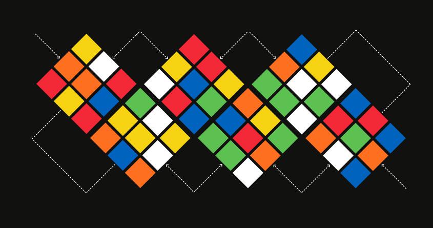 argyle's cube by walmazan on Threadless