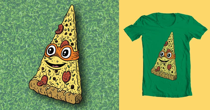 Turtle Slice by Jeremy Tinder on Threadless