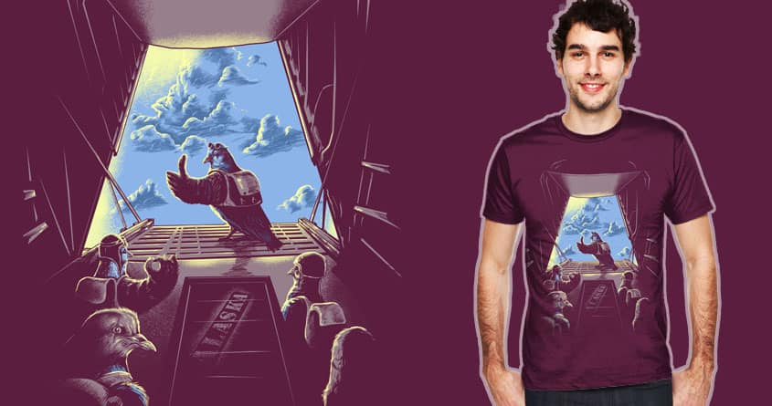 pigeon team by bokien on Threadless