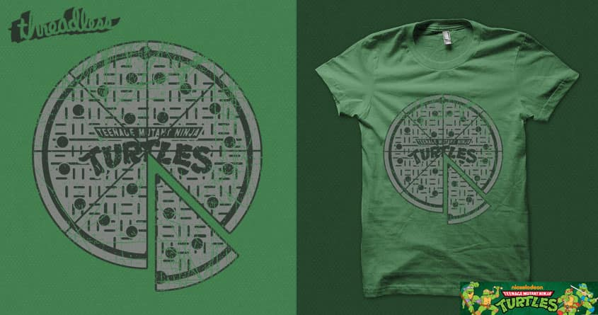 Slice of sewer life by Leo Canham on Threadless