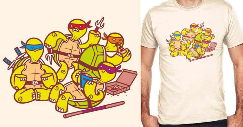 Turtle Time by pilihp on Threadless