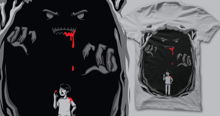 Watch Your Back by sayahelmi on Threadless