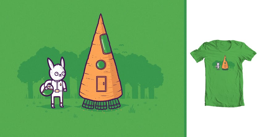 Carrot Rocket by randyotter3000 on Threadless