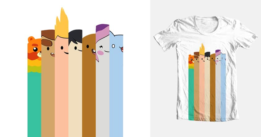 Bravest Warrior Rainbow by jrjh19829cebba232dca46eb on Threadless