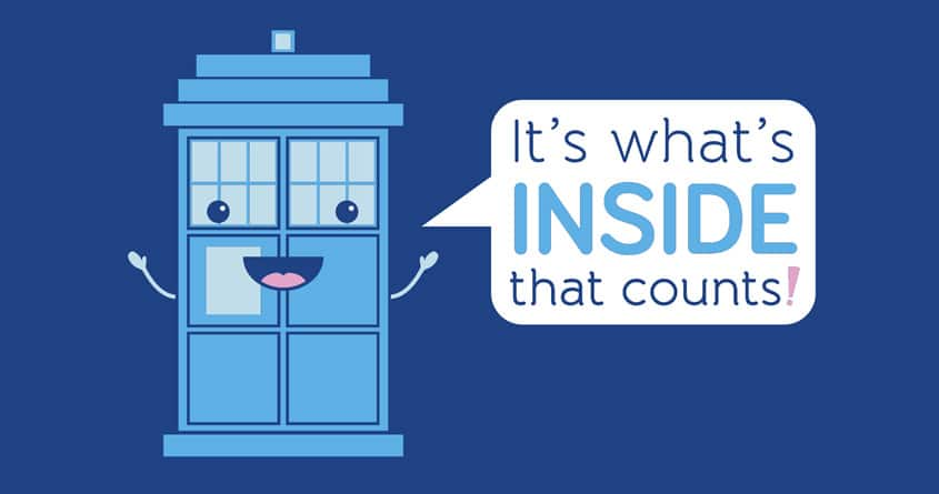 Bigger on the Inside by mj00 on Threadless