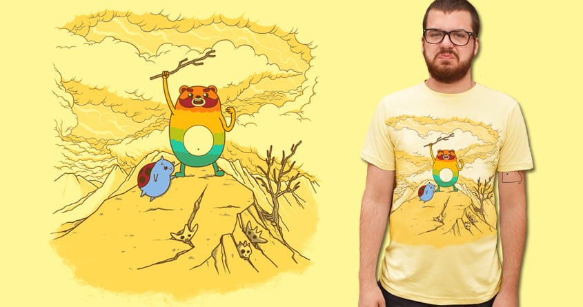 Impossibear Time by Doodle by Ninja! on Threadless