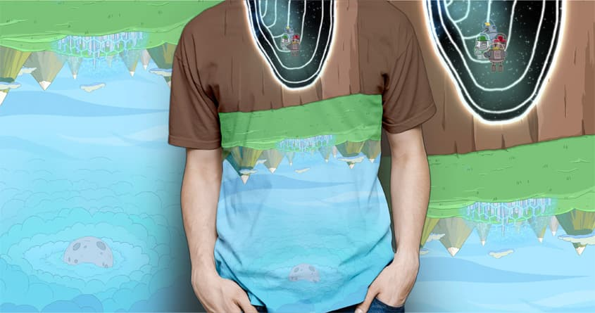 Trouble on planet Zaqbur by Zerlin on Threadless