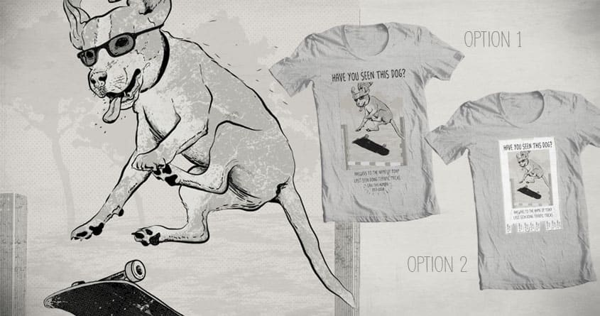 Dog new tricks by gnoks and goliath72 on Threadless