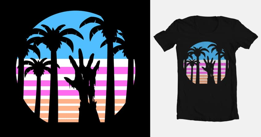 9c13f599d9d6af Trouble in Paradise by GP0WERS on Threadless