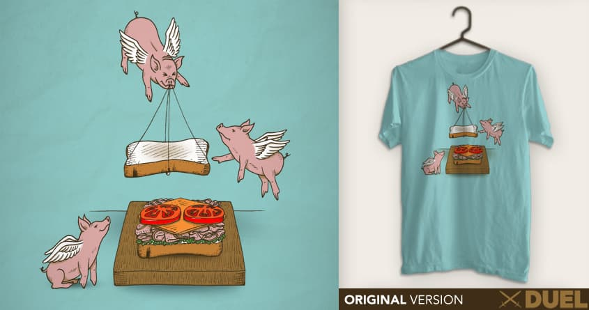 Make Me A Sandwich by SteveOramA on Threadless