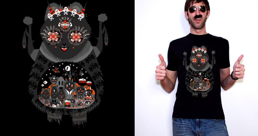 the belly of a beast by florian a. on Threadless