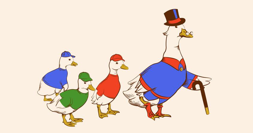 Tales of Ducks by Melee_Ninja on Threadless