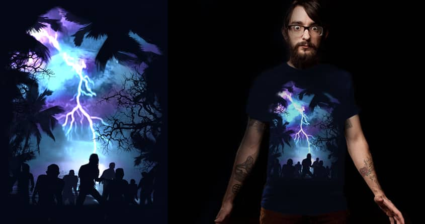 Stormy Night by ArTrOcItY on Threadless