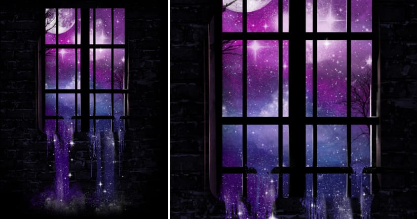 Let the Stars Flow Into You by dandingeroz on Threadless