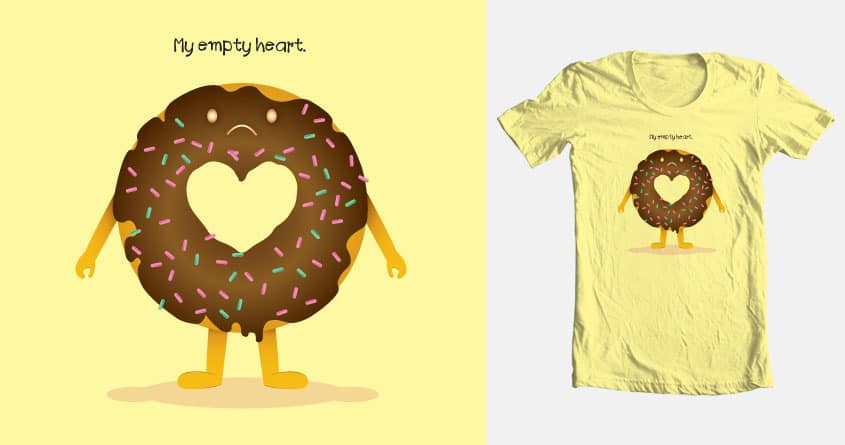 Empty Heart by ca2eypirat on Threadless