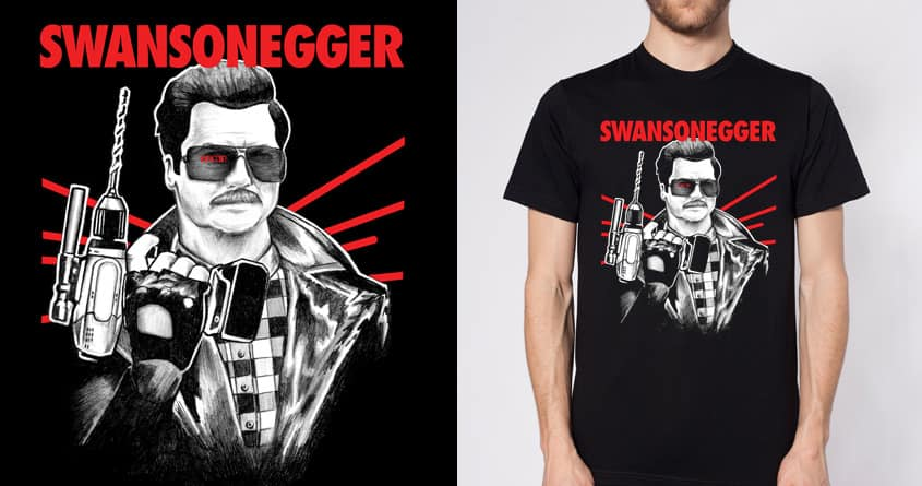 SWANSONEGGER by Faymuss on Threadless