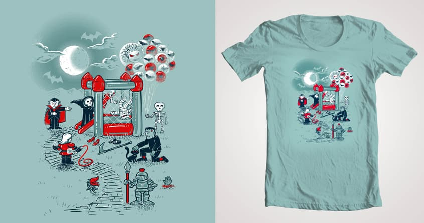 The fun is here in Castlemania by Skate_e1 and c0y0te7 on Threadless