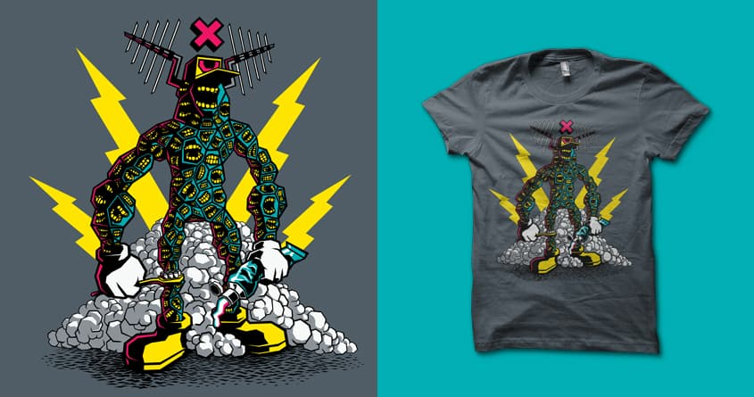 Sir Filthy Mouth by MEKAZOO on Threadless