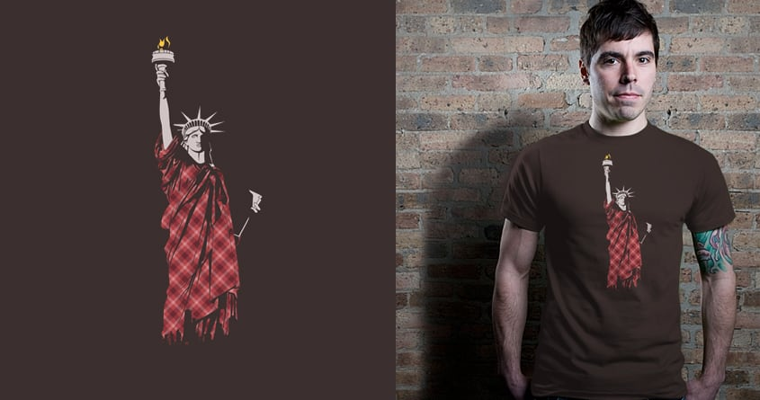 Liberty in Tartan by kimkong1014 on Threadless