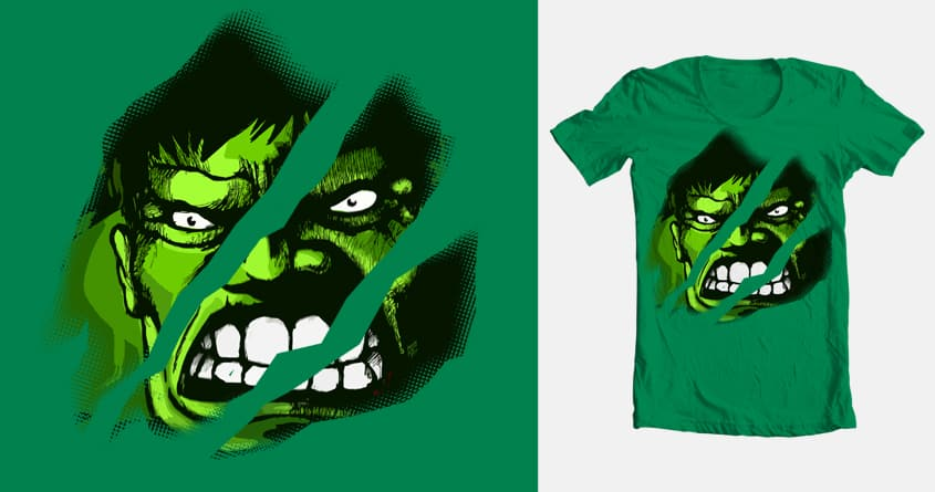 Tear up the Hulk by Waizor on Threadless