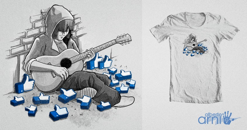 Getting Likes by albertoarni on Threadless