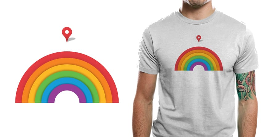 Somewhere Over the Rainbow by murraymullet on Threadless