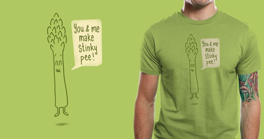 Happy Asparagus by murraymullet on Threadless