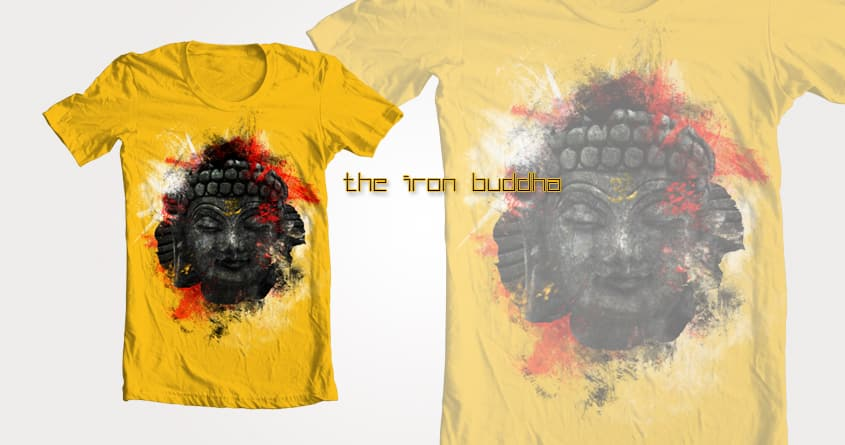 The Iron Buddha by MatthewMatters on Threadless