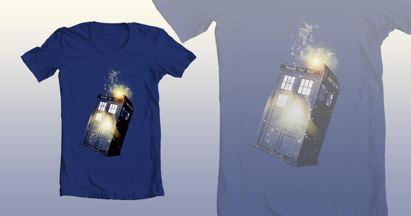 Wibbley Wobbley Timey WImey by MatthewMatters on Threadless