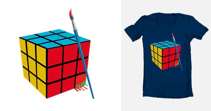 Brush With Success by MrPortland on Threadless
