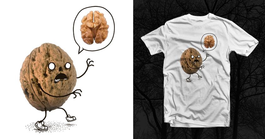 Zombie Walnut by laurxy on Threadless