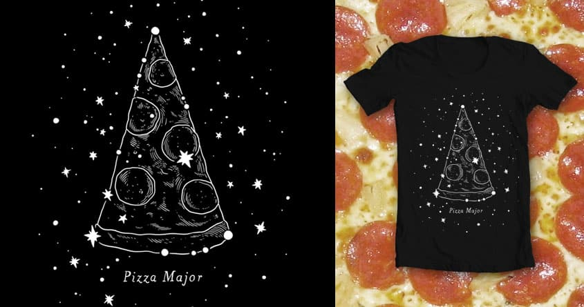 Pizza Major by sonmi on Threadless