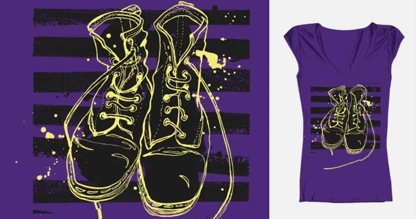 R.I.P Doc Boots by meeganparkee on Threadless