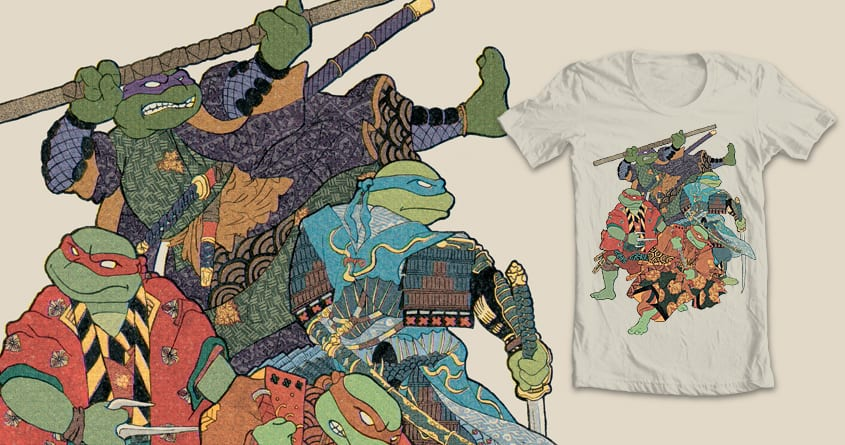 The Four Ronin by melmike on Threadless