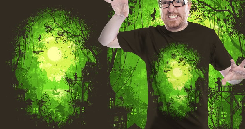 Autumn Green by robsonborges on Threadless