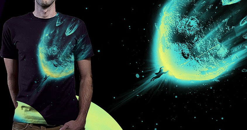 There Is No Planet to Save by nicebleed on Threadless