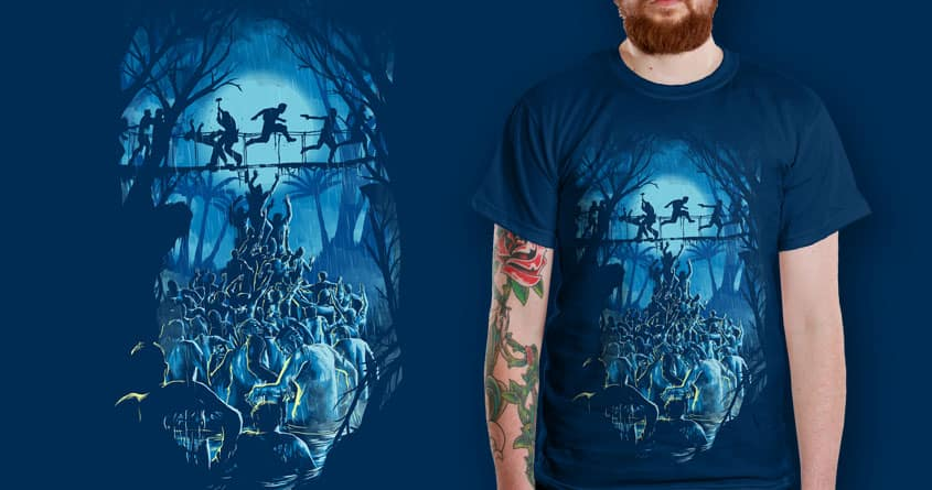 between death and island by bokien on Threadless