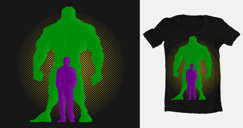 Man? Monster? Both? by chuckpcomics on Threadless