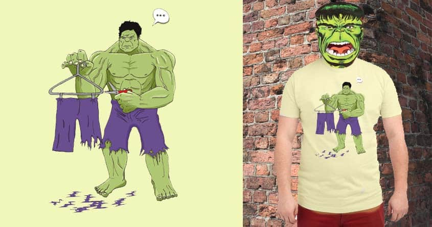 Hulk's secret.. by m.senecal on Threadless