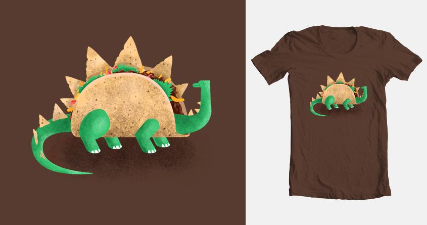 Tacosaurus by M-e-p on Threadless